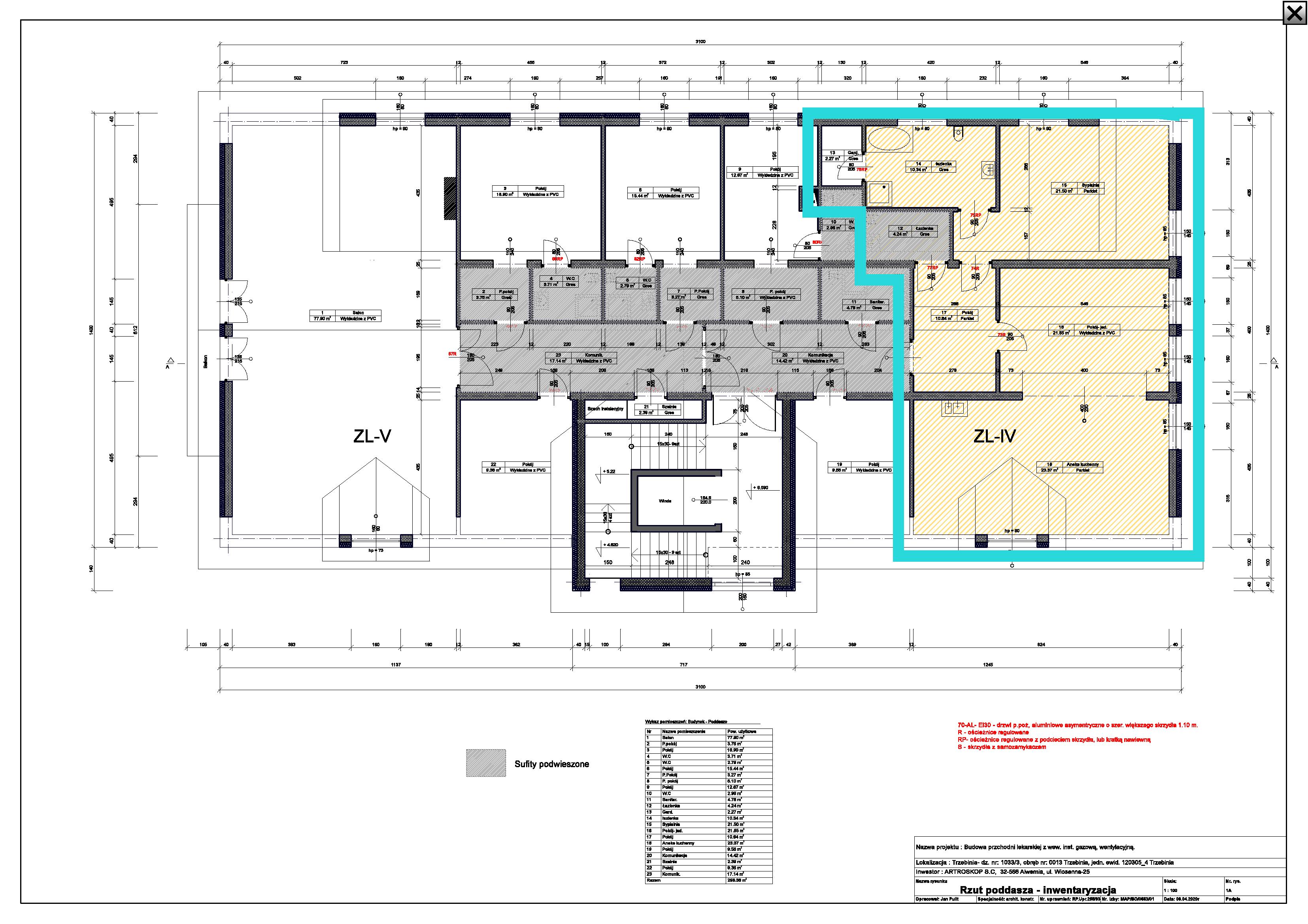 Mieszkanie 94 m2